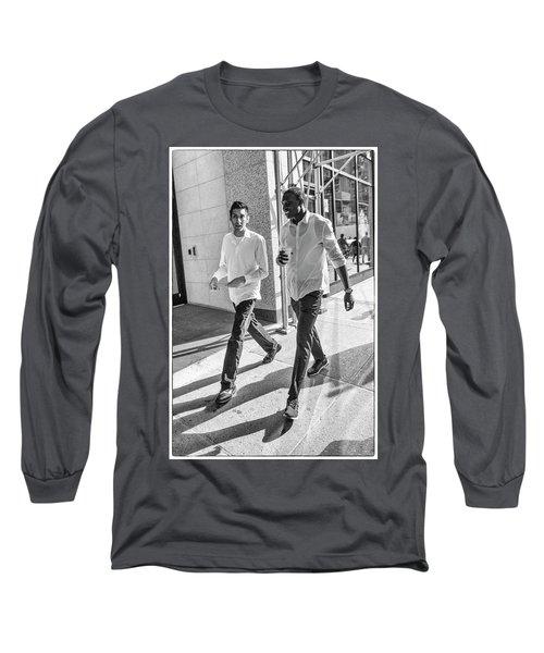 7th Aveune Manhattan. Long Sleeve T-Shirt