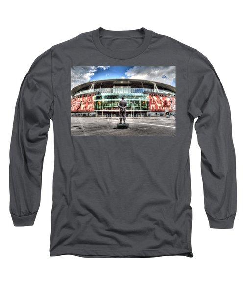 Arsenal Fc Emirates Stadium London Long Sleeve T-Shirt