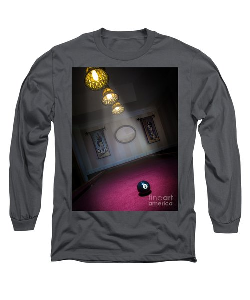 Long Sleeve T-Shirt featuring the photograph 8 Ball by Brian Jones