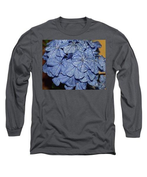 Blue Plumbago Long Sleeve T-Shirt