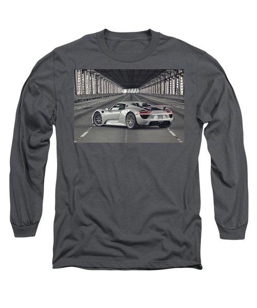 Porsche 918 Spyder  Long Sleeve T-Shirt