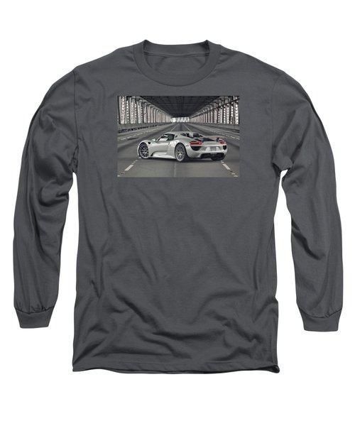 Porsche 918 Spyder  Long Sleeve T-Shirt