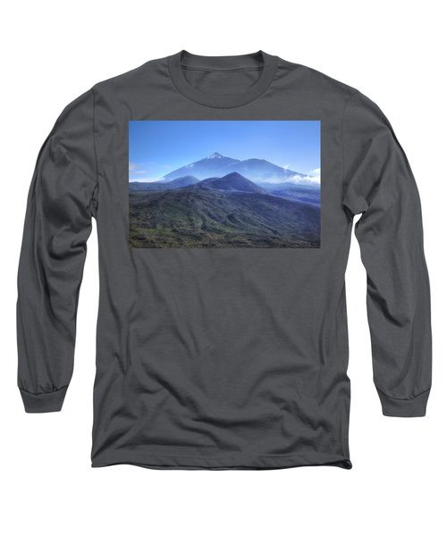 Tenerife - Mount Teide Long Sleeve T-Shirt by Joana Kruse