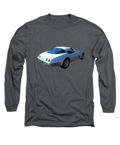 82 Corvette Generation C3 1968 To 1982 Long Sleeve T-Shirt