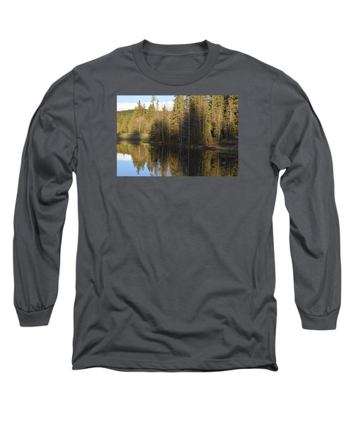 Shadow Reflection Kiddie Pond Divide Co Long Sleeve T-Shirt