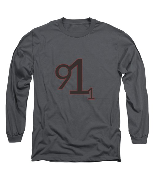 Long Sleeve T-Shirt featuring the mixed media 9 11 by TortureLord Art
