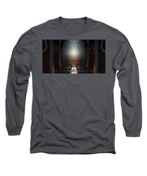 Stained Glass Window Church Long Sleeve T-Shirt