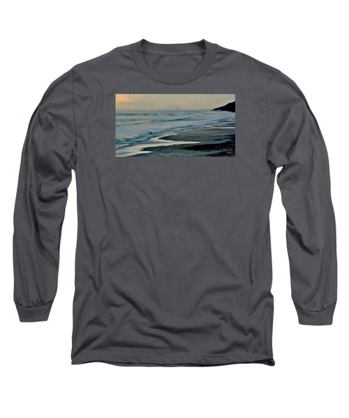 Stormy Morning At The Sea Long Sleeve T-Shirt by Werner Lehmann