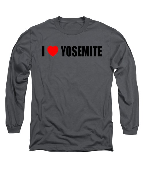 Yosemite National Park Long Sleeve T-Shirt by Brian's T-shirts
