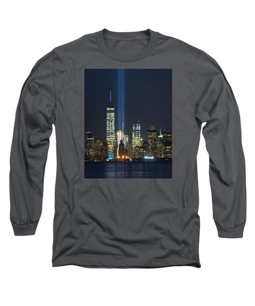 9.11.2015 Tribute In Light Long Sleeve T-Shirt by Kenneth Cole