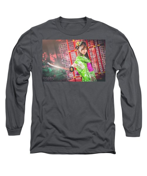 Asian Long Sleeve T-Shirt