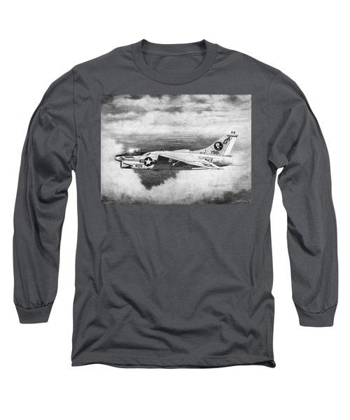 A-7e Corsair II Long Sleeve T-Shirt