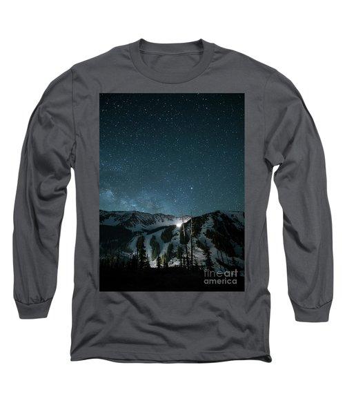 A-basin At Night Long Sleeve T-Shirt