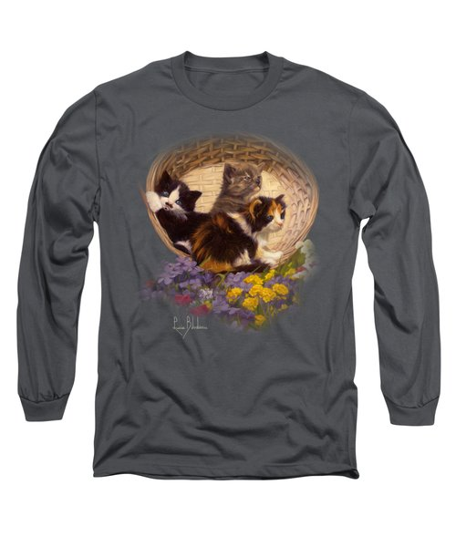 A Basket Of Cuteness Long Sleeve T-Shirt