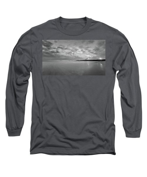 A Beach And A Bunch Of Boats Long Sleeve T-Shirt