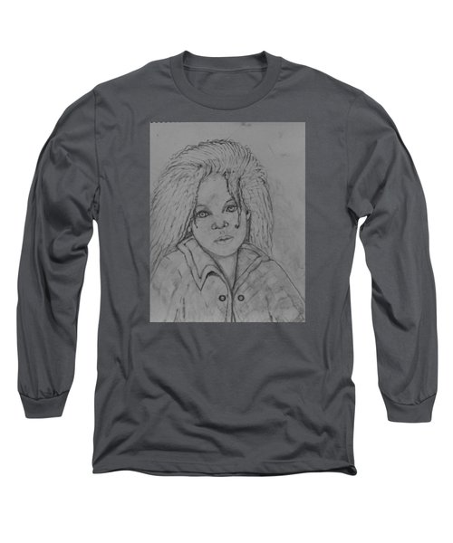 Wistful, The Drawing. Long Sleeve T-Shirt