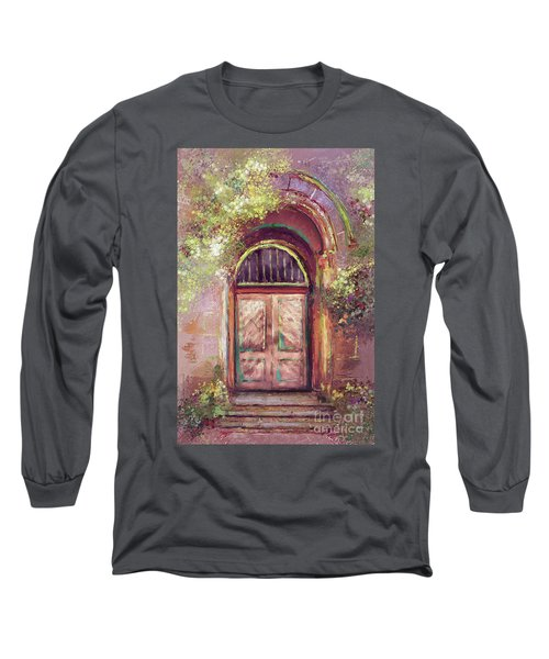 Long Sleeve T-Shirt featuring the digital art A Beautiful Mystery by Lois Bryan