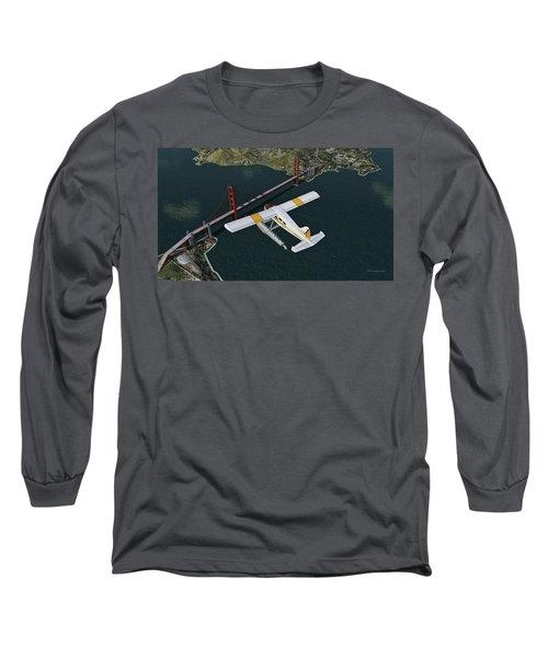 A Beaver Over The Bridge Long Sleeve T-Shirt