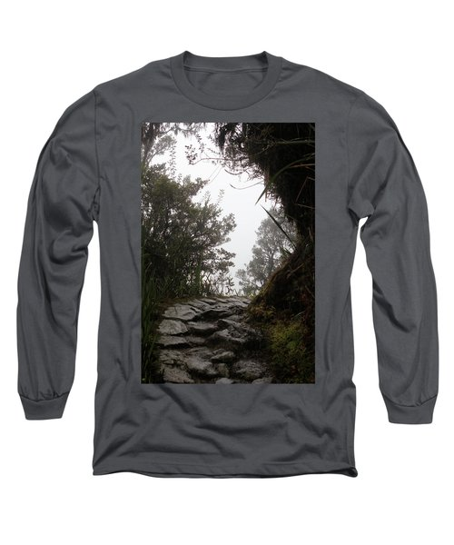A Bend In The Path Long Sleeve T-Shirt