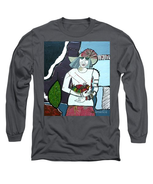 A Bird In Hand Long Sleeve T-Shirt