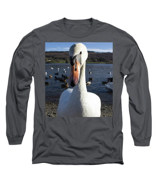 A Bit Close Long Sleeve T-Shirt