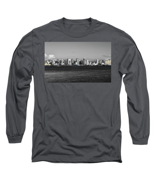 A Bit Of Color Long Sleeve T-Shirt by Joseph S Giacalone