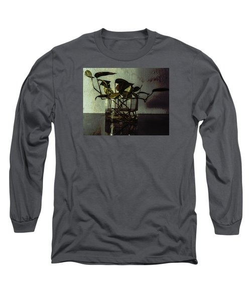 A Bit Of Grunge Long Sleeve T-Shirt by Rajiv Chopra