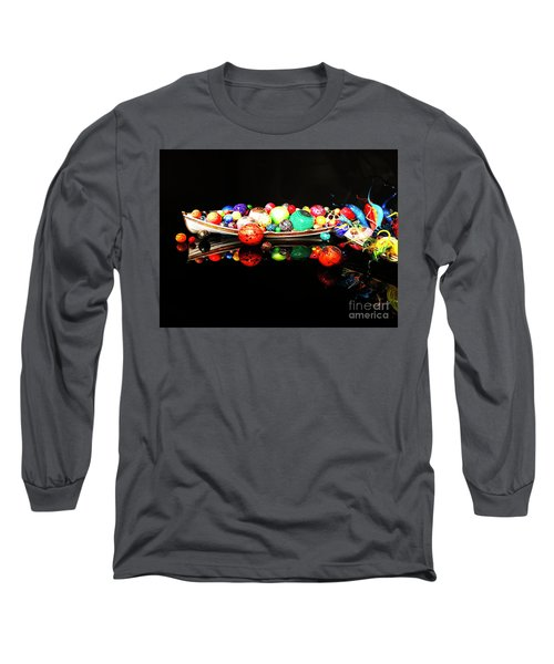 A Boatload Of Chihuli Long Sleeve T-Shirt