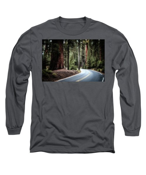 A Bright Future Around The Bend Long Sleeve T-Shirt