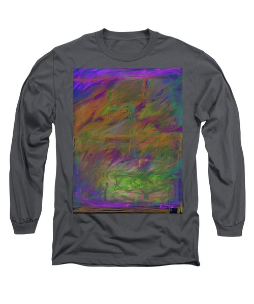 A Brush With The Edge Long Sleeve T-Shirt