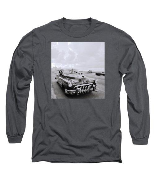 A Buick Car Long Sleeve T-Shirt by Shaun Higson