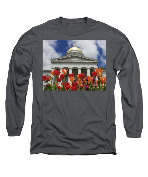 A Capitol Day Long Sleeve T-Shirt by Alice Mainville