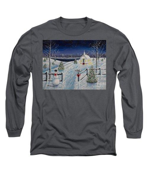 A Christmas Eve Long Sleeve T-Shirt