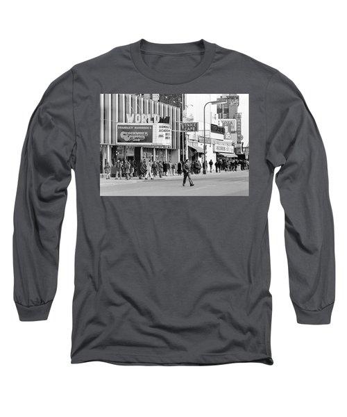 A Clockwork Orange At The World Theater Long Sleeve T-Shirt