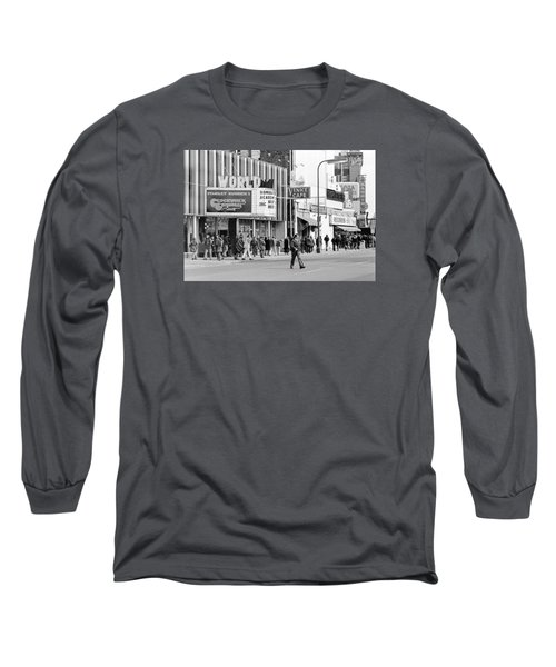 A Clockwork Orange At The World Theater Long Sleeve T-Shirt
