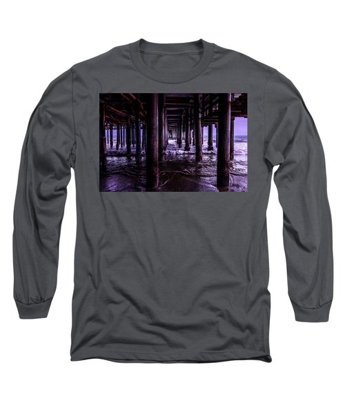 A Cloudy Day Under The Pier Long Sleeve T-Shirt