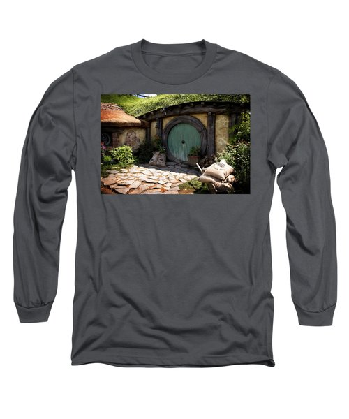 A Colorful Hobbit Home Long Sleeve T-Shirt