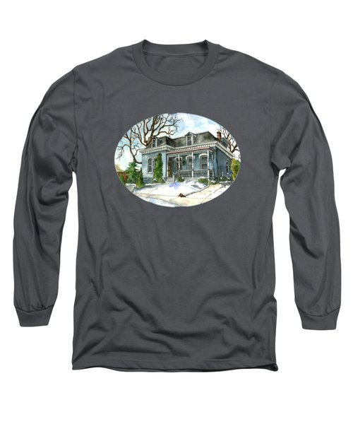 A Cozy Winter Cottage Long Sleeve T-Shirt