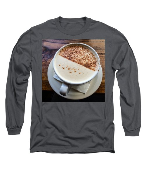 A Cup Of Chai Long Sleeve T-Shirt by Ronda Broatch