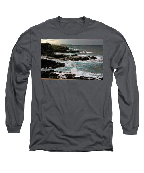 A Dangerous Coastline Long Sleeve T-Shirt