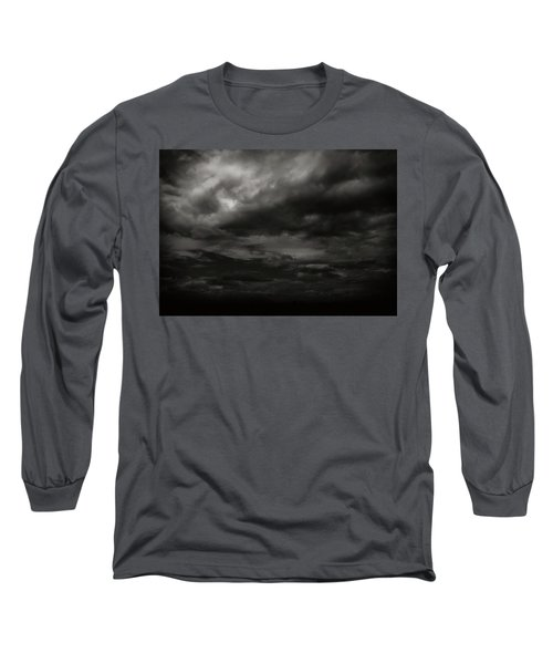 Long Sleeve T-Shirt featuring the photograph A Dark Moody Storm by John Norman Stewart