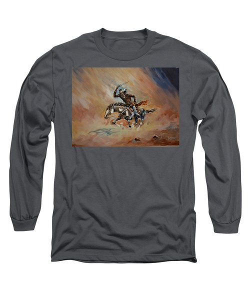 A Dash For Cover Racing Oncoming Sandstorm   Long Sleeve T-Shirt