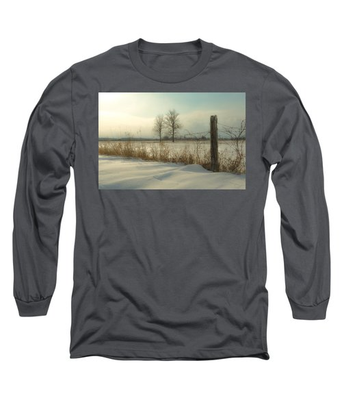 A Dawn Of New Snow Long Sleeve T-Shirt