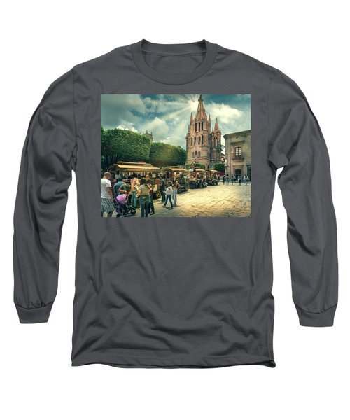 A Day With The Family Long Sleeve T-Shirt