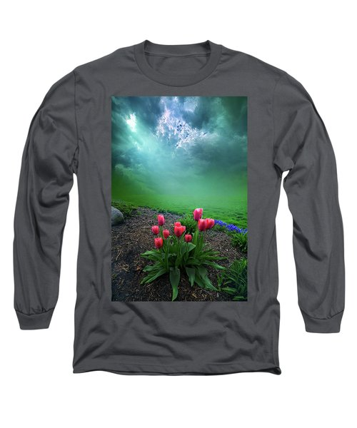 Long Sleeve T-Shirt featuring the photograph A Dream For You by Phil Koch