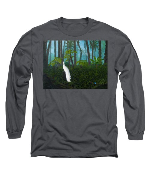 A Fantasy In White Long Sleeve T-Shirt