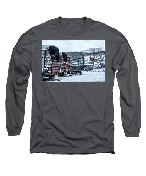A Farmers Winter Long Sleeve T-Shirt