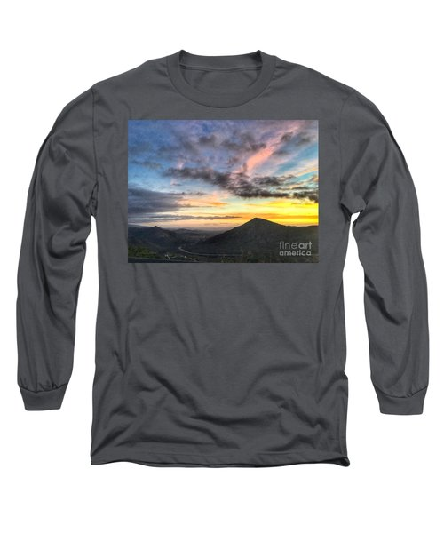 A Feeling Of The Presence Of God - Digital Painting Long Sleeve T-Shirt