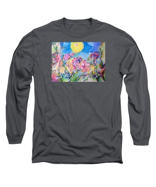 A Fine Summers Morning  Long Sleeve T-Shirt by Judith Desrosiers