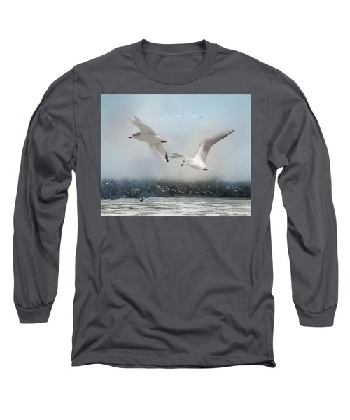 A Fishin' On The River Long Sleeve T-Shirt